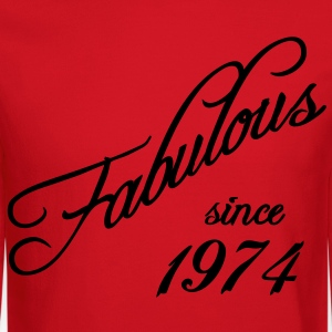 Fabulous since 1974 Women's T-Shirts - Crewneck Sweatshirt