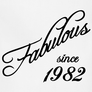 Fabulous since 1982 T-Shirts - Adjustable Apron