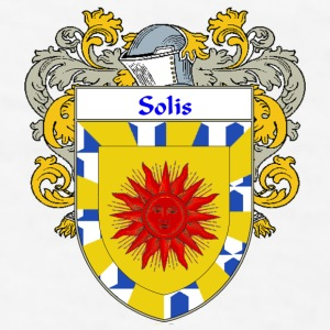 Solis Coat of Arms/Family Crest - Men's T-Shirt