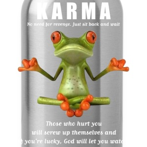karma T-Shirts - Water Bottle