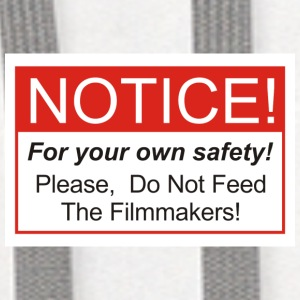 Do Not Feed The Filmmakers! - Contrast Hoodie