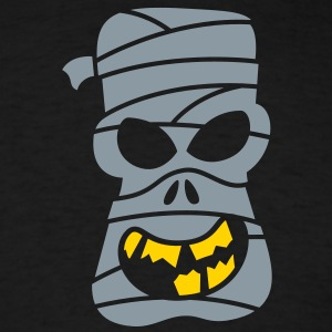 Naughty Halloween Mummy Long Sleeve Shirts - Men's T-Shirt