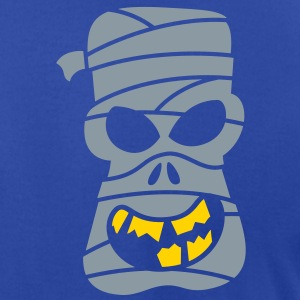 Naughty Halloween Mummy Zip Hoodies/Jackets - Men's T-Shirt by American Apparel