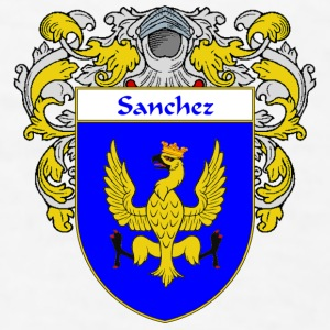 Sanchez Coat of Arms/Family Crest - Men's T-Shirt