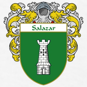 Salazar Coat of Arms/Family Crest - Men's T-Shirt