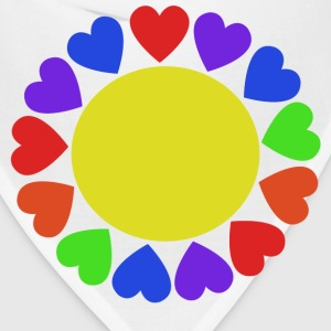 Rainbow Hearts - Bandana