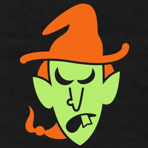 Angry Halloween Witch Caps - Men's T-Shirt