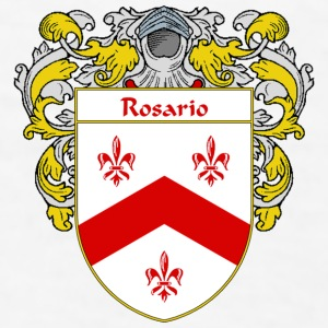 Rosario Coat of Arms/Family Crest - Men's T-Shirt