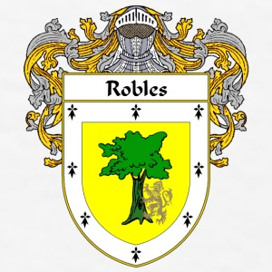 Robles Coat of Arms/Family Crest - Men's T-Shirt