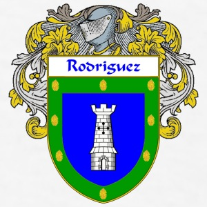 Rodriguez Coat of Arms/Family Crest - Men's T-Shirt