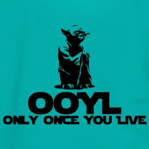 OOYL-Only Once You Live Women's T-Shirts - Unisex Fleece Zip Hoodie by American Apparel