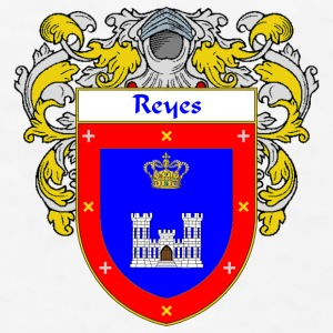Reyes Coat of Arms/Family Crest - Men's T-Shirt