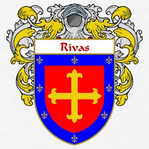 Rivas Coat of Arms/Family Crest - Men's T-Shirt