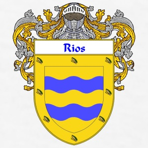 Rios Coat of Arms/Family Crest - Men's T-Shirt