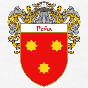 Pena Coat of Arms/Family Crest - Men's T-Shirt