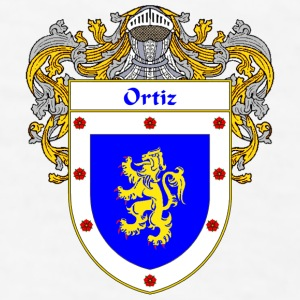Ortiz Coat of Arms/Family Crest - Men's T-Shirt