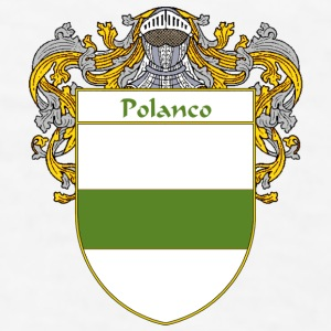 Polanco Coat of Arms/Family Crest - Men's T-Shirt
