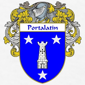 Portalatin Coat of Arms/Family Crest - Men's T-Shirt