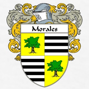 Morales Coat of Arms/Family Crest - Men's T-Shirt
