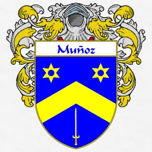 Munoz Coat of Arms/Family Crest - Men's T-Shirt