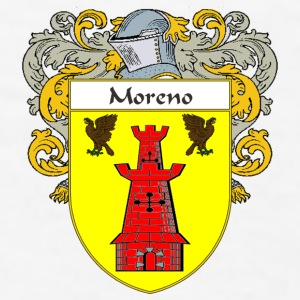 Moreno Coat of Arms/Family Crest - Men's T-Shirt