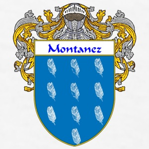 Montanez Coat of Arms/Family Crest - Men's T-Shirt