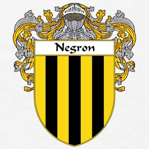 Negron Coat of Arms/Family Crest - Men's T-Shirt