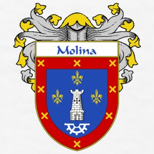 Molina Coat of Arms/Family Crest - Men's T-Shirt