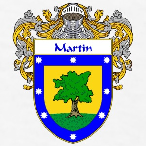 Martin Coat of Arms/Family Crest - Men's T-Shirt