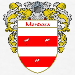 Mendoza Coat of Arms/Family Crest - Men's T-Shirt