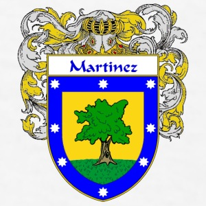 Martinez Coat of Arms/Family Crest - Men's T-Shirt