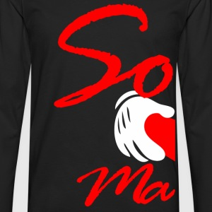 SOULMATE LEFT - Men's Premium Long Sleeve T-Shirt