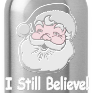 I Still Believe Santa - Water Bottle