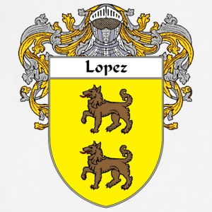 Lopez Coat of Arms/Family Crest - Adjustable Apron
