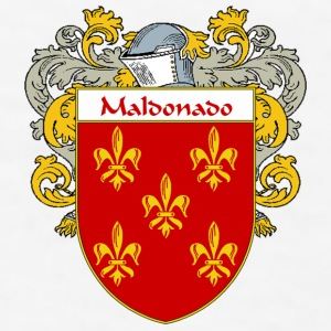 Maldonado Coat of Arms/Family Crest - Men's T-Shirt