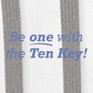 Be one with the Ten Key! - Contrast Hoodie