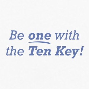 Be one with the Ten Key! - Men's Premium Long Sleeve T-Shirt