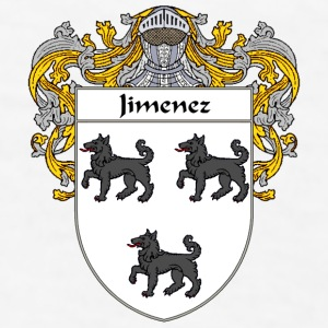 Jimenez Coat of Arms/Family Crest - Men's T-Shirt