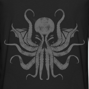 Cthulhu Stencil - Men's Premium Long Sleeve T-Shirt