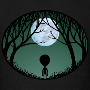 Alien Hoodie Cute Kid's Alien Shirts ET Gifts - Men's T-Shirt