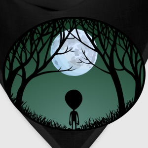 Alien Art Hooded Sweatshirt ET Hoodie Shirts - Bandana
