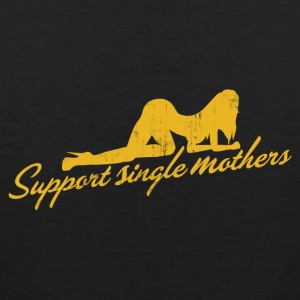 SUPPORT SINGLE MOTHERS T-Shirts - Men's Premium Tank