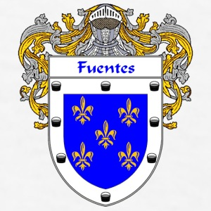 Fuentes Coat of Arms/Family Crest - Men's T-Shirt