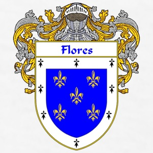 Flores Coat of Arms/Family Crest - Men's T-Shirt