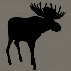 Sweden moose - Men's Premium Long Sleeve T-Shirt