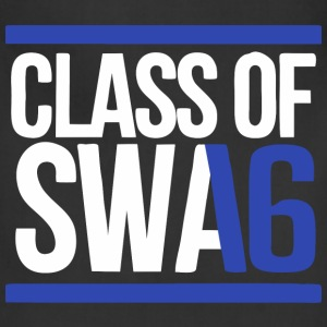 CLASS OF SWAG (2016) blue with bands T-Shirts - Adjustable Apron