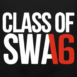 CLASS OF SWAG (2016) Red with no bands Women's T-Shirts - Men's Premium Tank