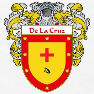 DeLaCruz Coat of Arms/Family Crest - Men's T-Shirt
