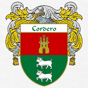 Cordero Coat of Arms/Family Crest - Men's T-Shirt
