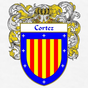 Cortez Coat of Arms/Family Crest - Men's T-Shirt